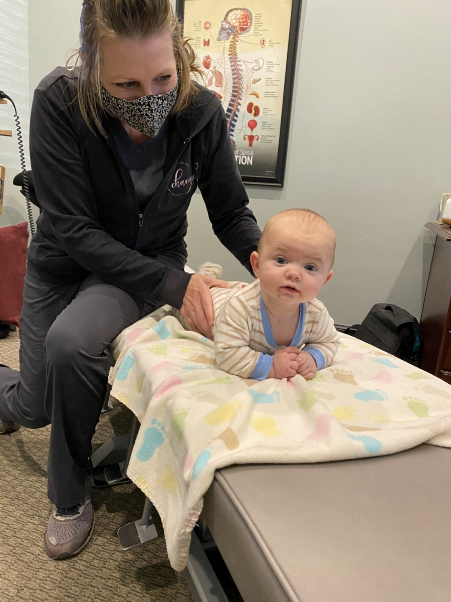 Don't forget that your babies benefit from Chiropractic Care!